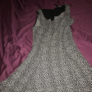 H&M Black/ White Floral Dress